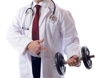doctors recommend weight-lifting